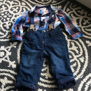 Baby boy Cat & Jack outfit size 6-9 months
